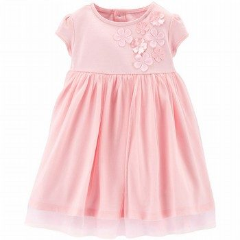 Carter's Floral Tulle Dress