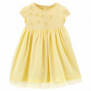 Carter's Butterfly Tulle Dress