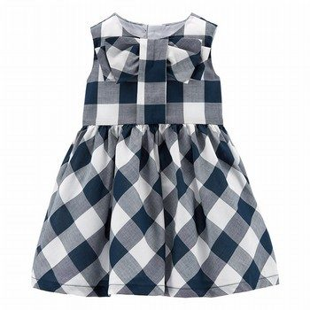 Carter's Gingham Lawn Dress