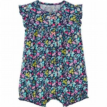 Carter's Floral Snap-Up Romper