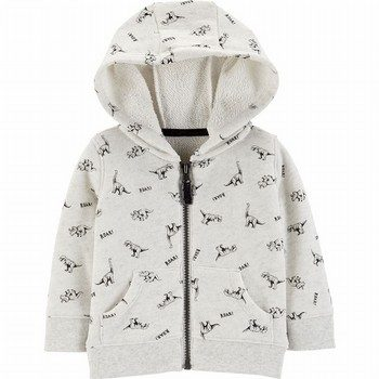 Carter's Dinosaur Zip-Up French Terry Hoodie