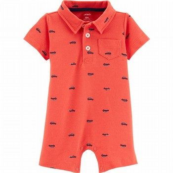Carter's Car Polo Romper