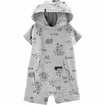Carter's Pirate Hooded Romper
