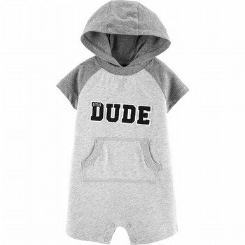 Carter's Hooded Little Dude Romper
