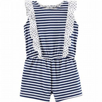 Carter's Striped Jersey Romper