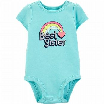 Carter's Best Sister Rainbow Collectible Bodysuit