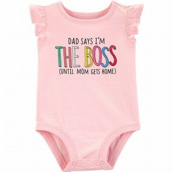 Carter's Dad Says I'm The Boss Collectible Bodysuit