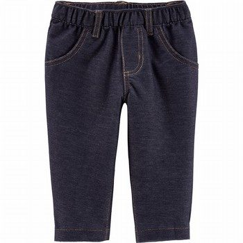 Carter's Pull-On Knit Denim Pants