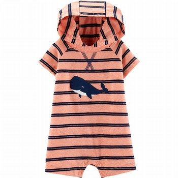 Carter's Whale Hooded Romper