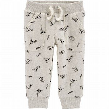 Carter's Dinosaur Pull-On French Terry Pants