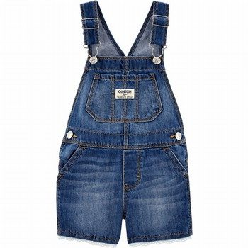 OshKosh Eyelet Trim Denim Shortalls