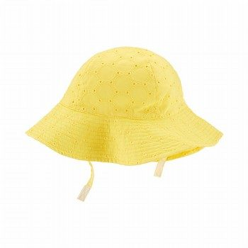 Carter's Embroidered Eyelet Sunhat