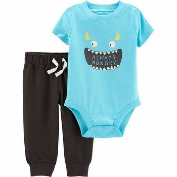 Carter's 2PC Monster Bodysuit & Pant Set