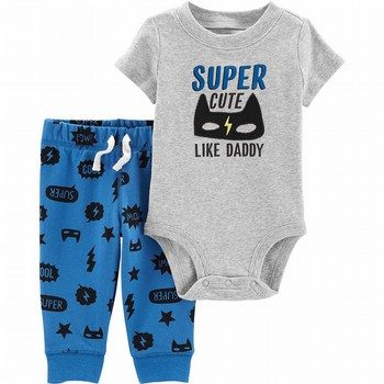 Carter's 2PC Superhero Bodysuit & Pant Set