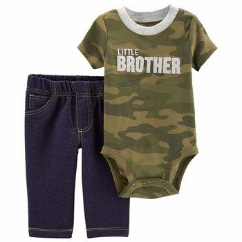 Carter's 2PC Little Bro Bodysuit & Pant Set