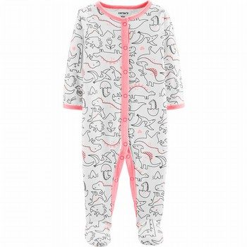 Carter's Snap-Up Cotton Footed Sleep & Play Onepiece