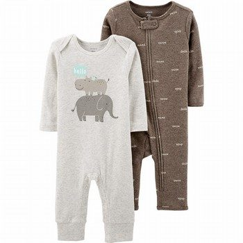 Carter's 2PK Jumpsuits