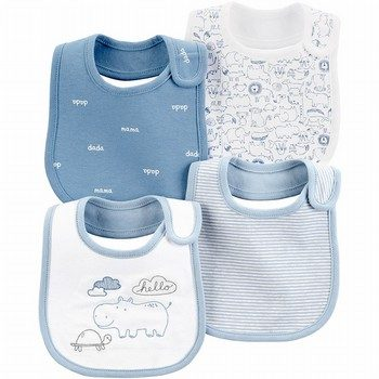 Carter's 4PK Animal Teething Bib