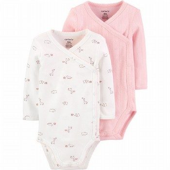 Carter's 2PK Side-Snap Bodysuits