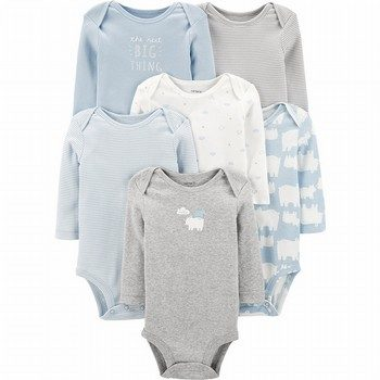 Carter's 6PK Polar Bear Original Bodysuits
