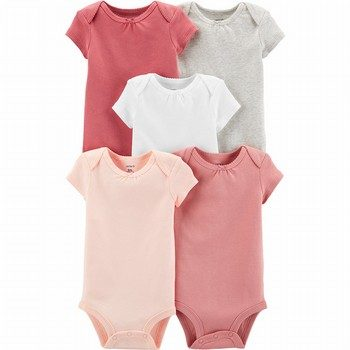 Carter's 5PK Short-Sleeve Original Bodysuits