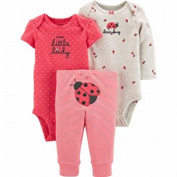 Carter's 3PC Ladybug Little Character Set