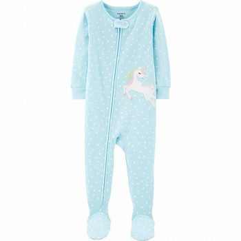 Carter's Snug Fit Cotton Footed Onepiece PJs