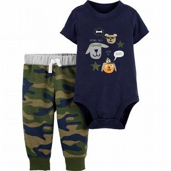 Carter's 2PC Dog Bodysuit Pant Set