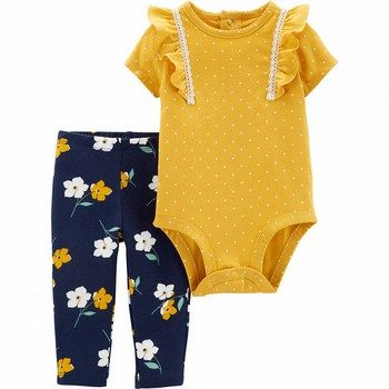 Carter's 2PC Polka Dot Bodysuit Pant Set
