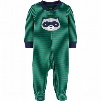 Carter's Zip-Up Cotton Sleep & Play Onepiece