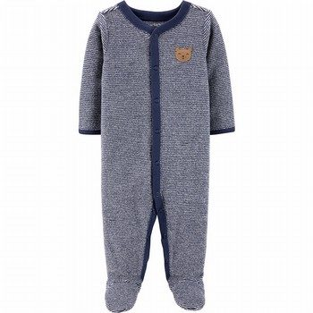 Carter's Snap-Up Terry Sleep & Play Onepiece