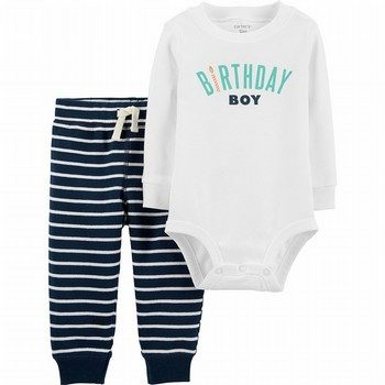 Carter's 2PC Birthday Boy Bodysuit Pant Set