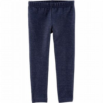 Carter's Knit Denim Leggings