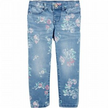 OshKosh B'gosh Floral Jeggings