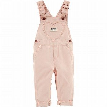 OshKosh B'gosh Heart Pocket Overalls