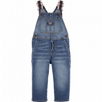 OshKosh B'gosh Denim Overalls - Indigo Bright Wash