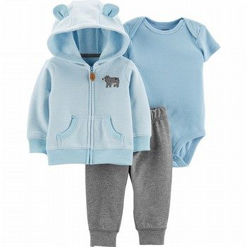 Carter's 3PC Bear Little Jacket Set