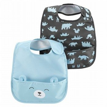 Carter's 2PK Bear Feeding Bibs