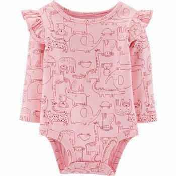 Carter's Zoo Animals Flutter Bodysuit