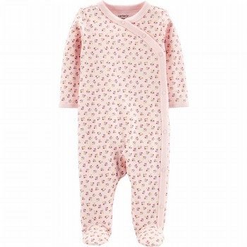 Carter's Side-Snap Cotton Sleep & Play Onepiece