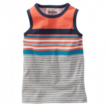 Oshkosh Stripe Sleeveless Top