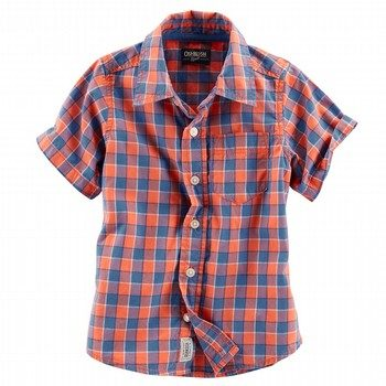 Oshkosh S/S Check Shirt