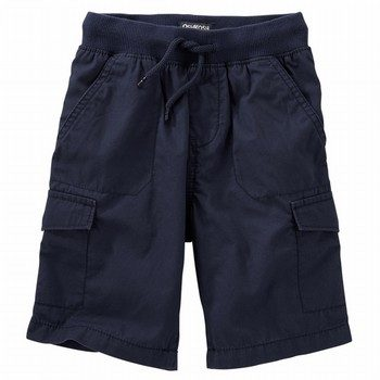 OshKosh Cargo Ribbed Pull-On Shorts