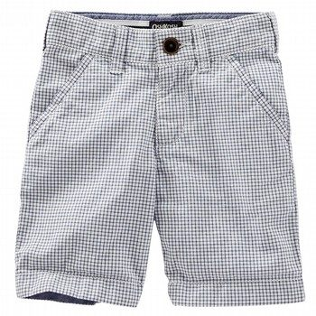 Oshkosh Mini Check Shorts