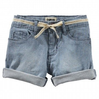 Oshkosh Roll Cuff Hickory Shorts