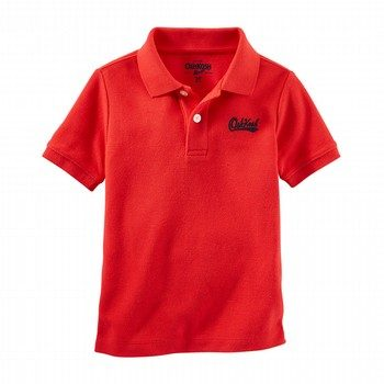 OshKosh Piqué Uniform Polo