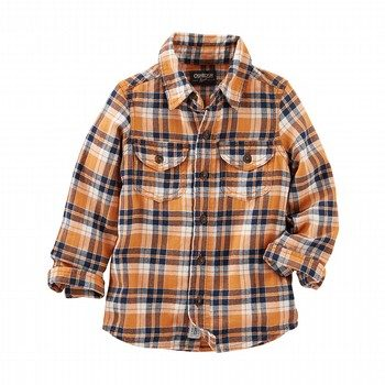 OshKosh Plaid L/S Shirt