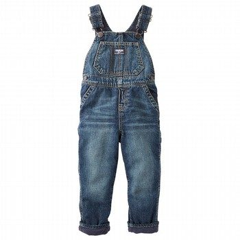 OshKosh Fleece-Lined Denim Overalls