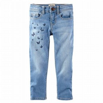 OshKosh Embellished Girlfriend Jeans - Nineties Wash