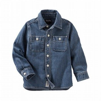 OshKosh 2-Pocket Button-Front Denim Shirt